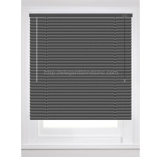 """Picture of 1"""" Dynasty Architect Mini Blinds - Metallic Colors"""
