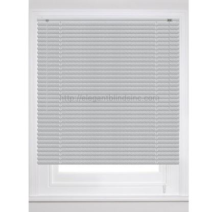 "Picture of 1"" Dynasty Architect Mini Blinds - Standard Colors"