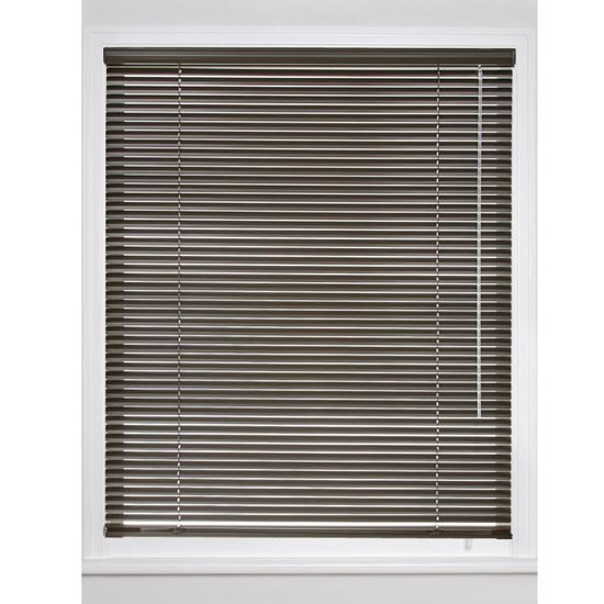 "Picture of 1"" Riviera Mini Blinds With 6-Gauge Slats"