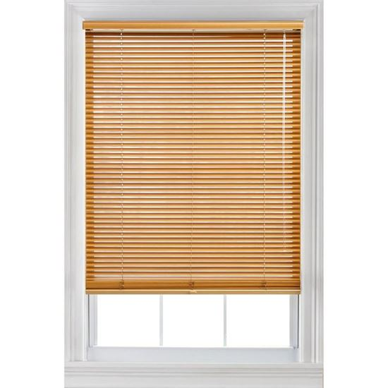 "Picture of 1"" Basswood Blinds"