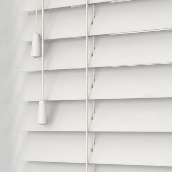 "Picture of 2"" Fauxwood Blinds - Smooth"