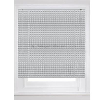 "Picture of 1"" Elite Integrated Contoured Mini Blinds With 6-Gauge Slats"